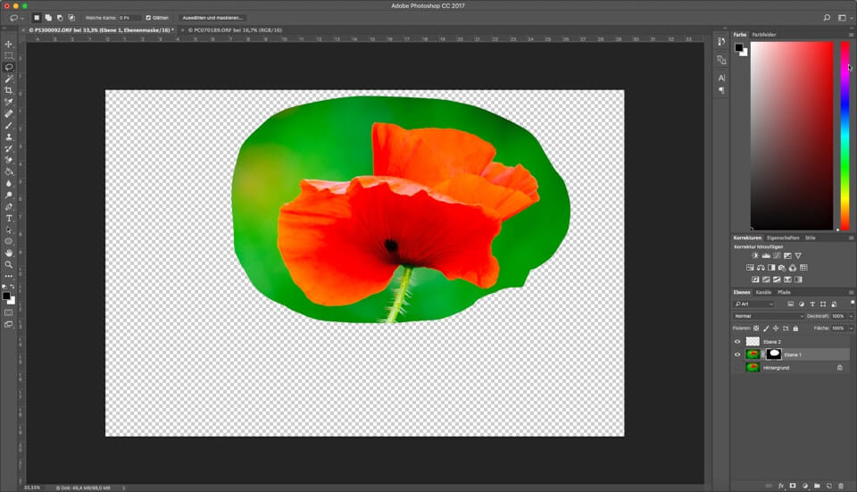 Photoshop Quicktipp - Maske aus Auswahl erstellen, (Foto copyright - Frank Weber - Berlin - fotologbuch.de)