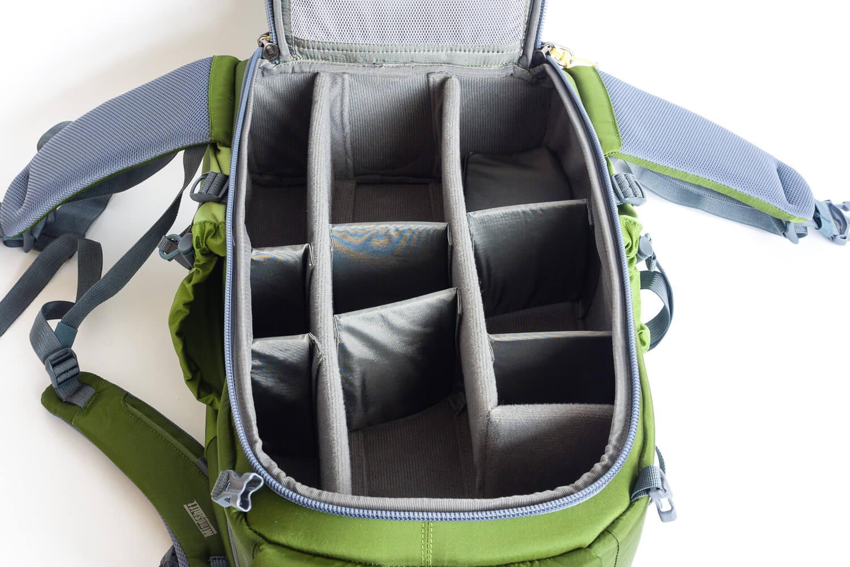 Mein neuer Fotorucksack, variable Fächer für Fotoausrüstung - Mindshift Gear Backlight 26 Liter Outdoor, (Foto copyright - Frank Weber - Berlin - fotologbuch.de)