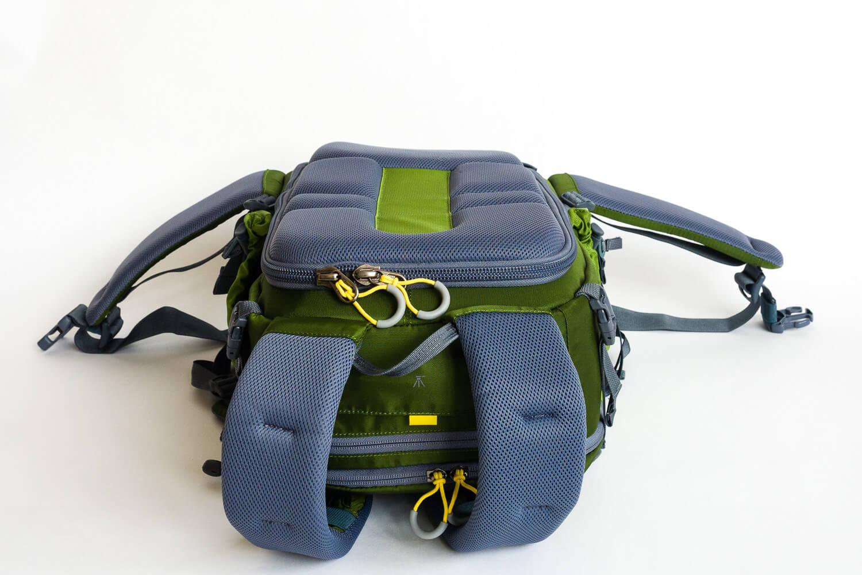 Mein neuer Fotorucksack, Ansicht Rückenteil - Mindshift Gear Backlight 26 Liter Outdoor, (Foto copyright - Frank Weber - Berlin - fotologbuch.de)