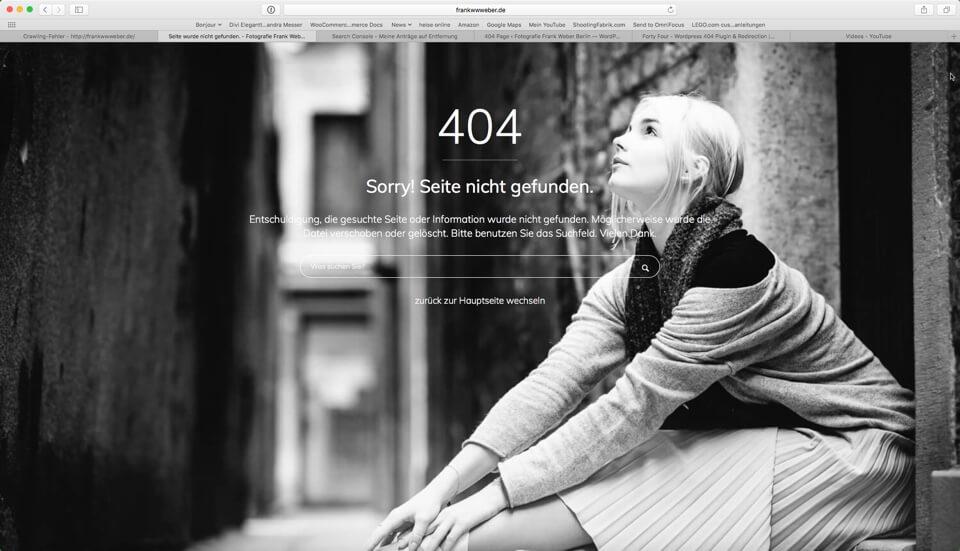 Fotologbuch Blogtipp - 404 Fehler finden, benutzerfreundlicher gestalten und korrigieren, (Foto copyright - Frank Weber - Berlin - fotologbuch.de)