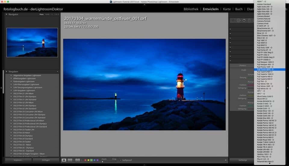 Lightroom Quicktipp - Kameraprofile - Woher kommen Sie bei mir, (Foto copyright - Frank Weber - Berlin - fotologbuch.de)