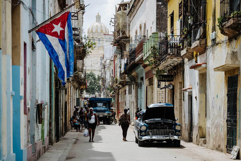 Havanna - Streets, (Foto copyright - Frank Weber - Berlin - fotologbuch.de)