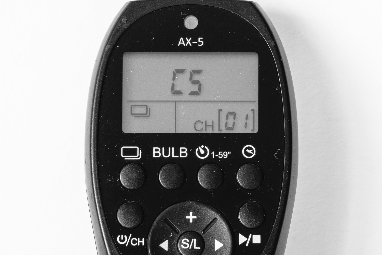 Test Fernauslöser Ayex AX-5, (Foto copyright - Frank Weber - Berlin - fotologbuch.de) - Modus Einzelbildaufnahme
