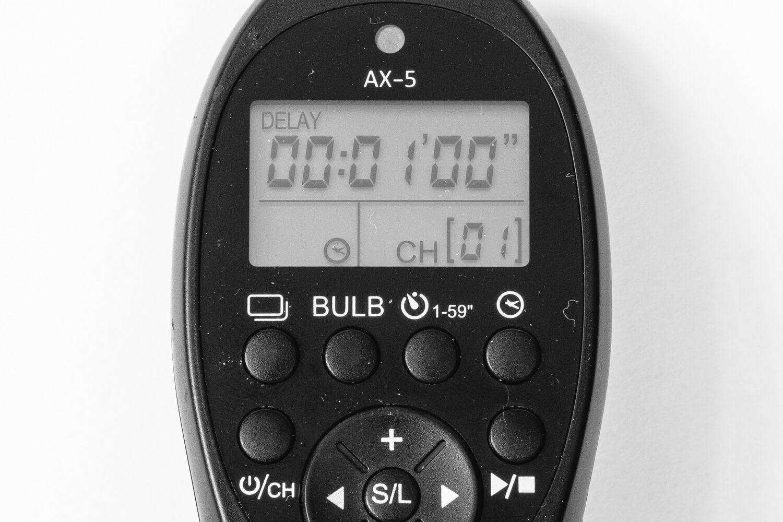 Test Fernauslöser Ayex AX-5, (Foto copyright - Frank Weber - Berlin - fotologbuch.de) - Modus Zeitgesteuertes Auslösen