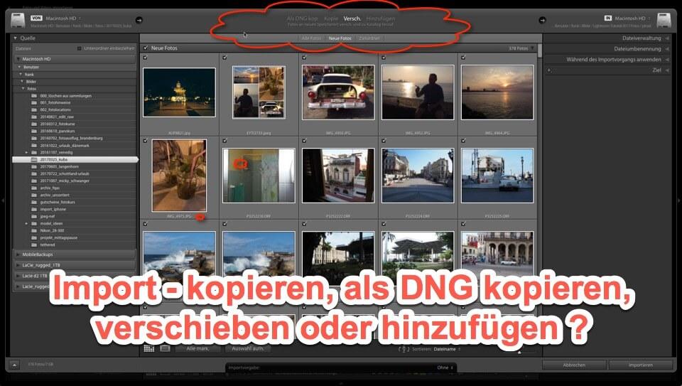 Lightroom Expertentipp - Import von Fotos - Kopieren, als DNG kopieren, verschieben …?, (Foto copyright - Frank Weber - Berlin - fotologbuch.de)
