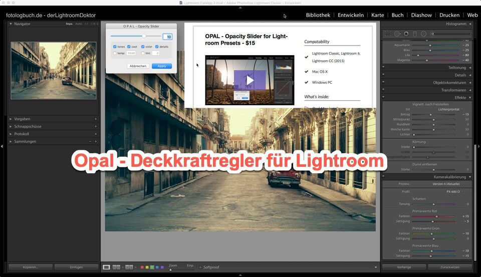Lightroom - Tipp - OPAL - Opacity Slider for Lightroom Presets (und mehr), (Foto copyright - Frank Weber - Berlin - fotologbuch.de)
