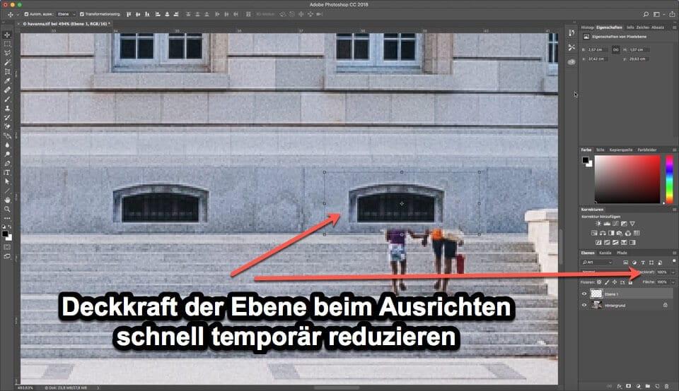 Photoshop Quicktipp - Deckkraft der Ebene steuern, (Foto copyright - Frank Weber - Berlin - fotologbuch.de)