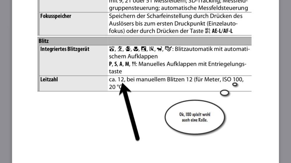 Fototipp - Wie weit reicht mein interner Blitz? - Leitzahl suchen, (Foto copyright - Frank Weber - Berlin - fotologbuch.de)