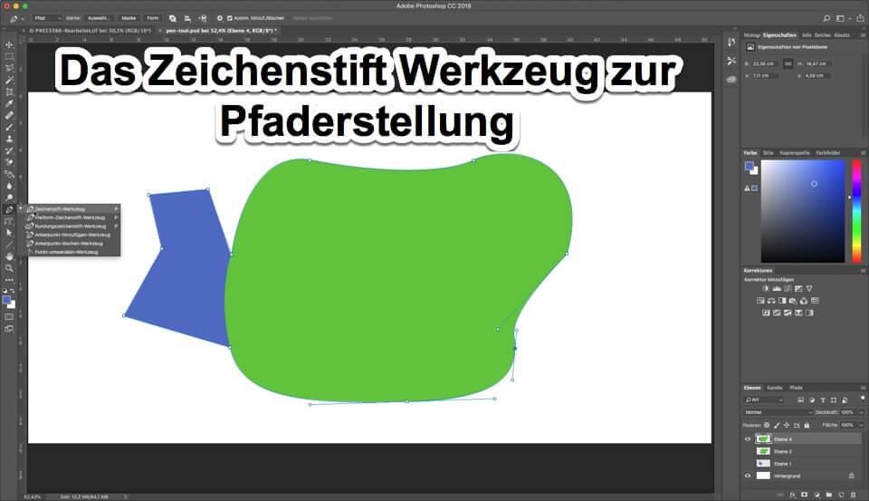 """Fotologbuch lernt Photoshop - Malwerkzeuge zur Pfaderstellung """"Das Zeichenstift Werkzeug"""", (Foto copyright - Frank Weber - Berlin - fotologbuch.de)"""