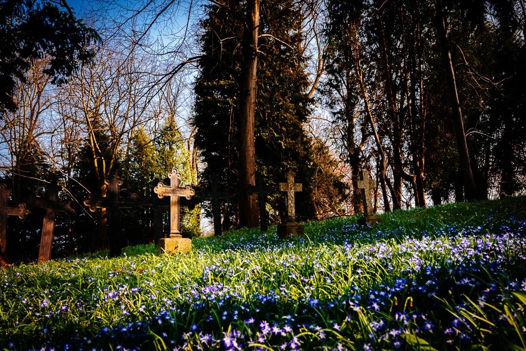 Rügen - Impressionen auf einem Dorffriedhof, (Foto copyright - Frank Weber - Berlin - fotologbuch.de)