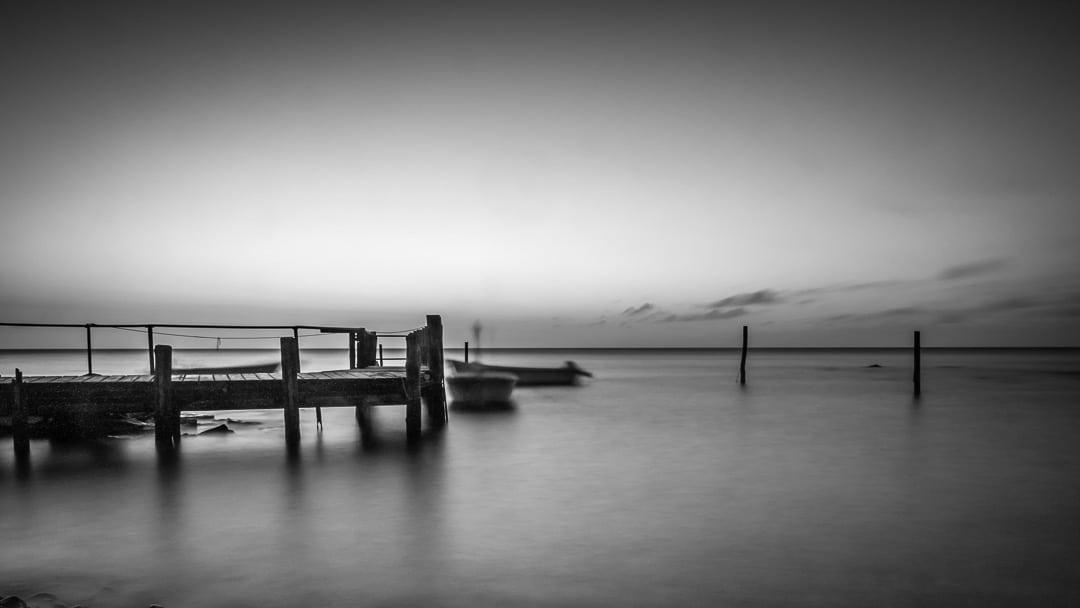 Morgens im Hafen von Vitt auf Rügen unterwegs, (Foto copyright - Frank Weber - Berlin - fotologbuch.de)