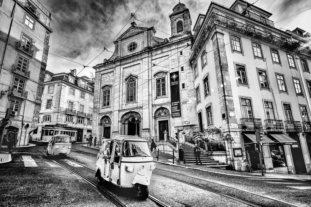 Lissabon - Impressionen in der Stadt, (Foto copyright - Frank Weber - Berlin - fotologbuch.de)