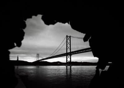 Ponte 25 de Abril Lissabon – Foto durch Rostloch
