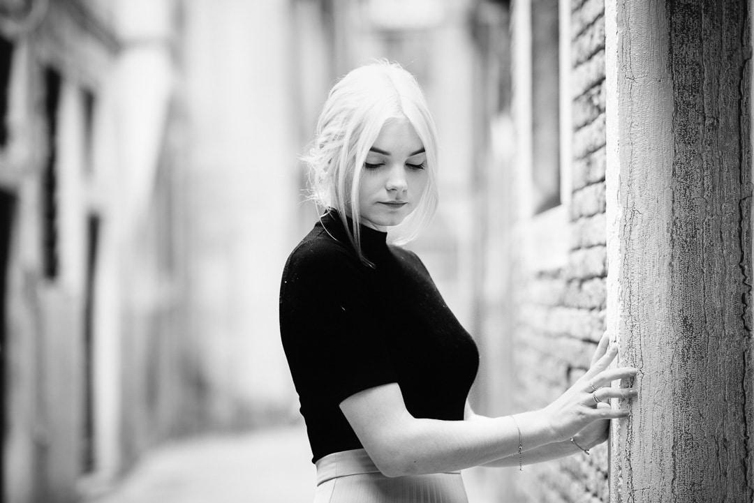 Marisa – Die etwas andere Ballettstunde / Venedig 2016 Portraits, (Foto copyright - Frank Weber - Berlin - fotologbuch.de)