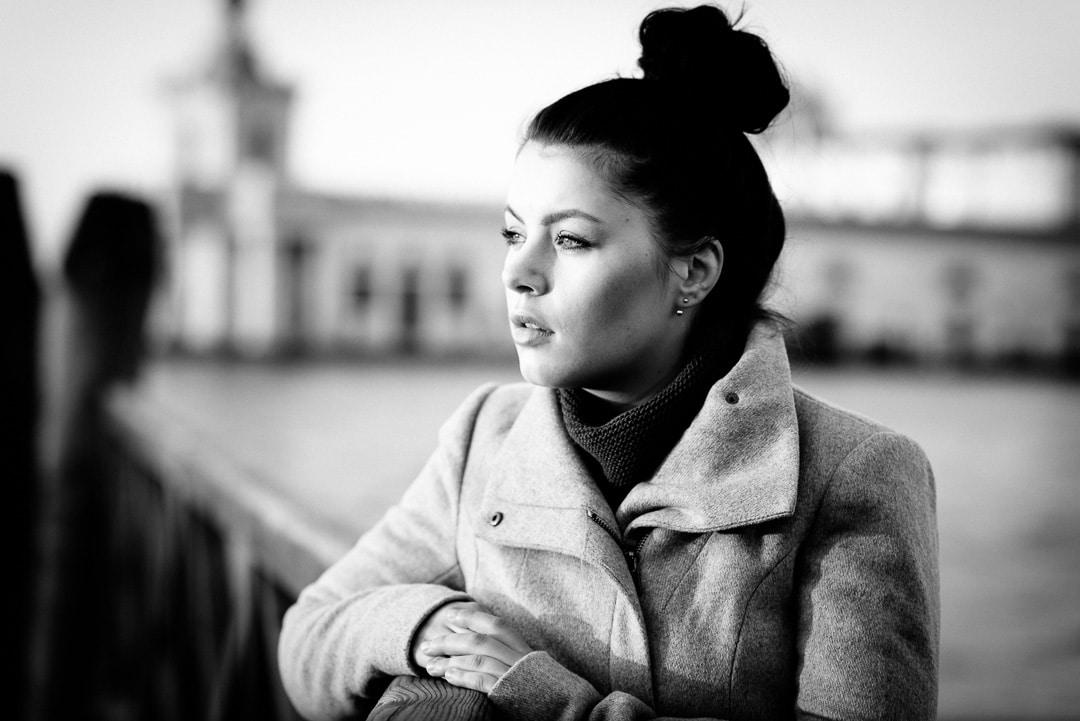 Ricarda – allein in einer fremden Stadt - Portraits in Venedig, (Foto copyright - Frank Weber - Berlin - fotologbuch.de)