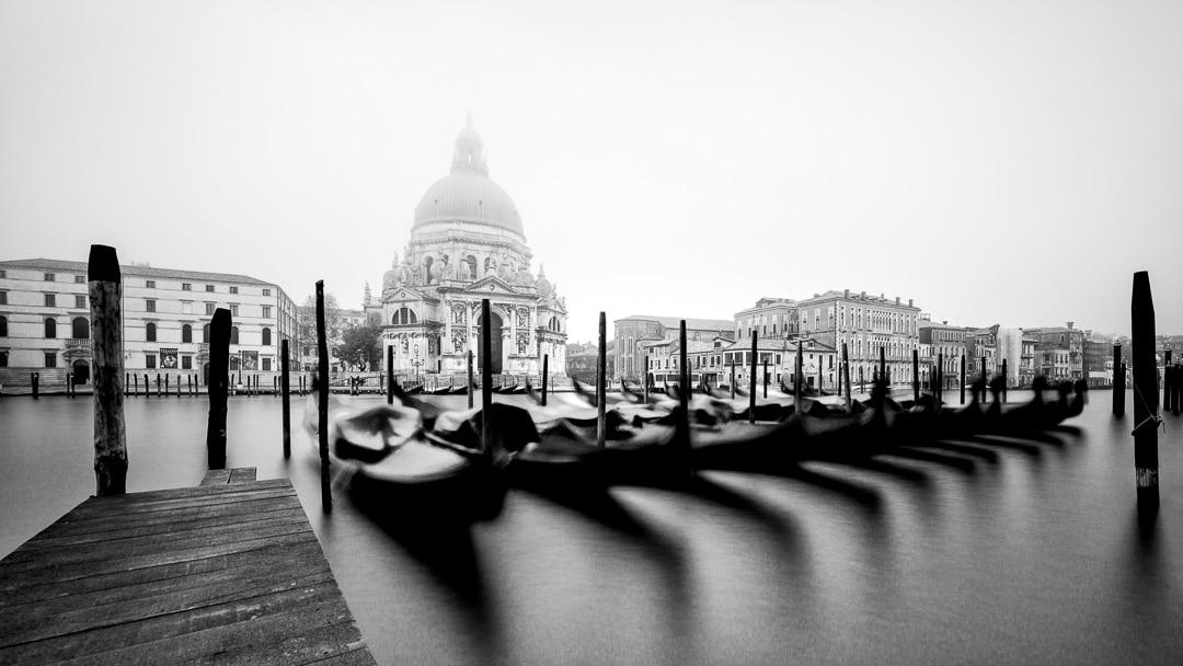 Basilica di Santa Maria della Salute - Canal Grande Venedig, (Foto copyright - Frank Weber - Berlin - fotologbuch.de)