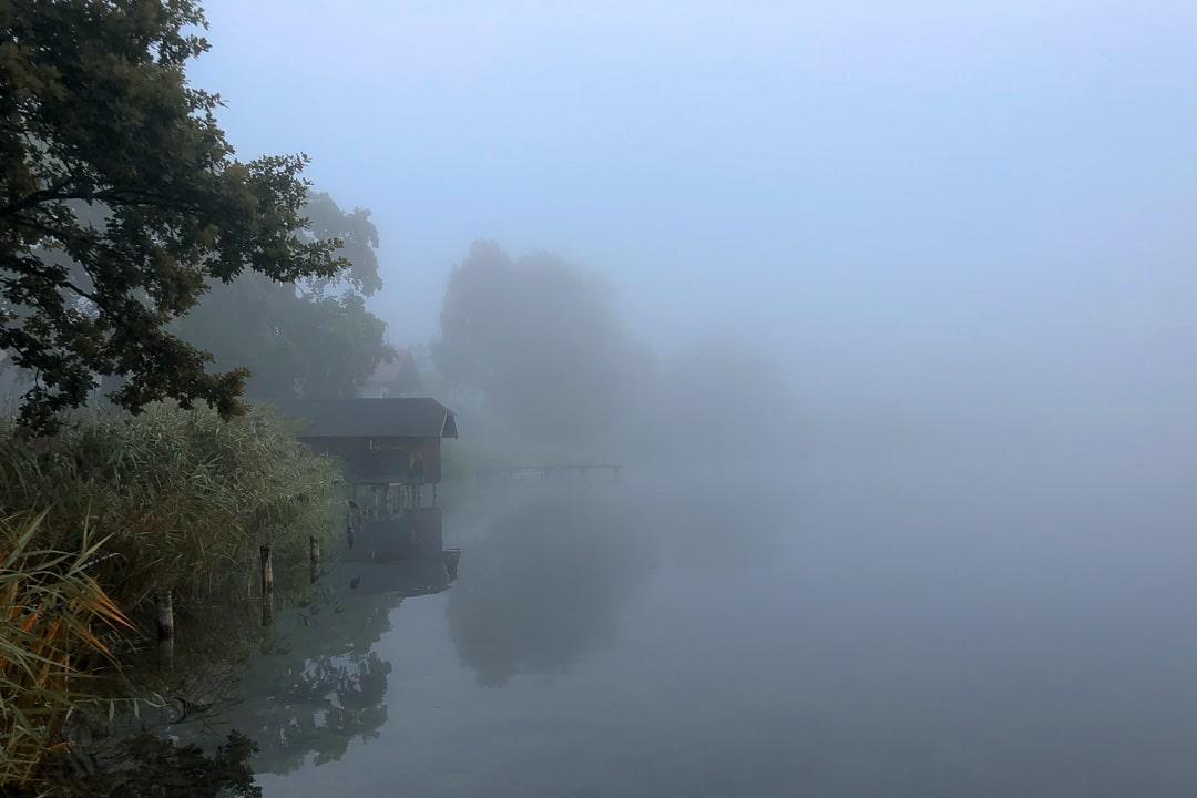 Foto des Tages – Morgenstimmung – Der Weßlinger See im Nebel