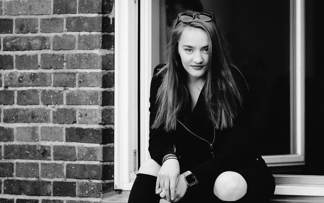 Nele – Portrait in schwarzweiß und nebenbei entstanden