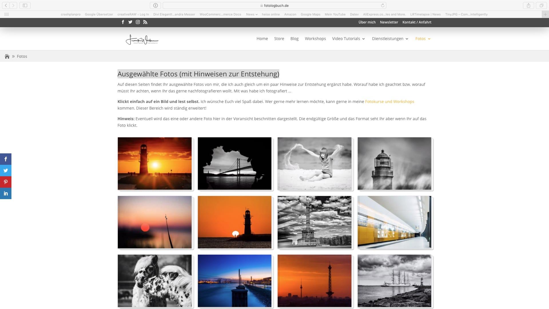 Neuer Bereich auf Fotologbuch.de – Ausgewählte Fotos (mit Hinweisen zur Entstehung)