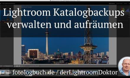 Lightroom Expertentipp – Lightroom Katalogbackups verwalten und aufräumen