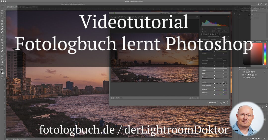 "Video Tutorial Serie ""Fotologbuch lernt Photoshop"", (Foto copyright - Frank Weber - Berlin - fotologbuch.de)"