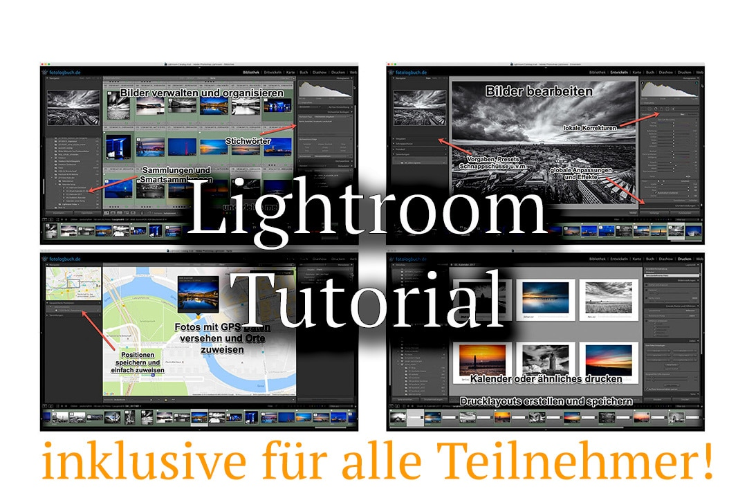 Lightroom Kurs Video Tutorial inklusive, (Foto copyright - Frank Weber - Berlin - fotologbuch.de)