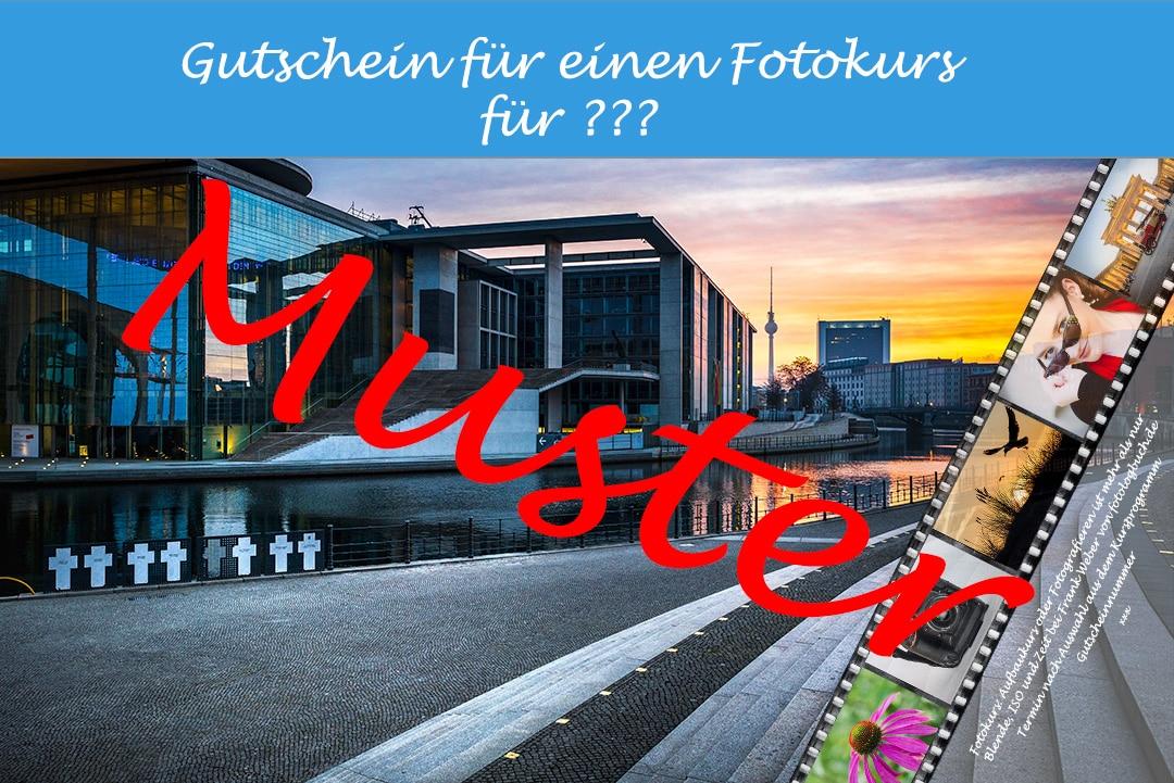Fotologbuch - Fotokurs Gutschein für Fotokurse, (Foto copyright - Frank Weber - Berlin - fotologbuch.de)