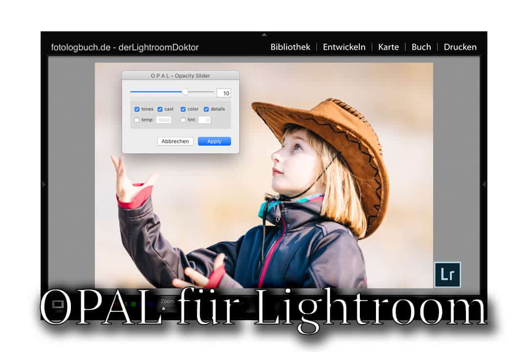 Lightroom Plugin Highlight - OPAL Lightroom Opacity Slider, (Foto copyright - Frank Weber - Berlin - fotologbuch.de)