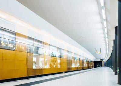 Berlin – U-Bahn Station Brandenburger Tor – Langzeitbelichtung
