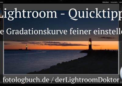 Lightroom Quicktipp – Die Gradationskurve feiner einstellen