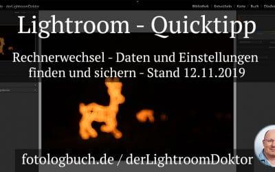 Lightroom Quicktipp - Rechnerwechsel Daten und Einstellungen finden und sichern, (Foto copyright - Frank Weber - Berlin - fotologbuch.de)