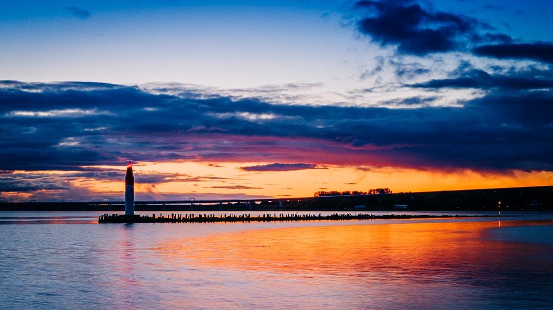 Zwei Fotoausflüge in das Stralsunder Hafengebiet