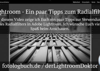 Lightroom – Ein paar Tipps zum Radialfilter