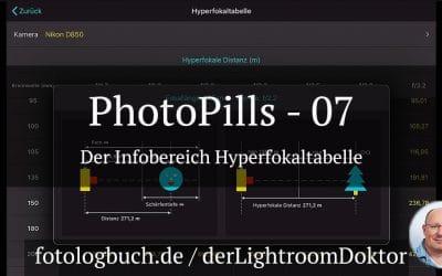 Die App PhotoPills - 07 Der Bereich Hyperfokaltabelle, (Foto copyright - Frank Weber - Berlin - fotologbuch.de)