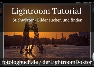 Lightroom Tutorial – Stichwörter – Bilder suchen und finden
