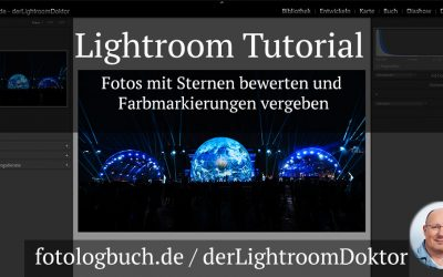 Lightroom Tutorial - Fotos mit Sternen bewerten und Farbmarkierungen vergeben
