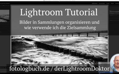 Lightroom Tutorial - Bilder in Sammlungen organisieren und wie verwende ich die Zielsammlung