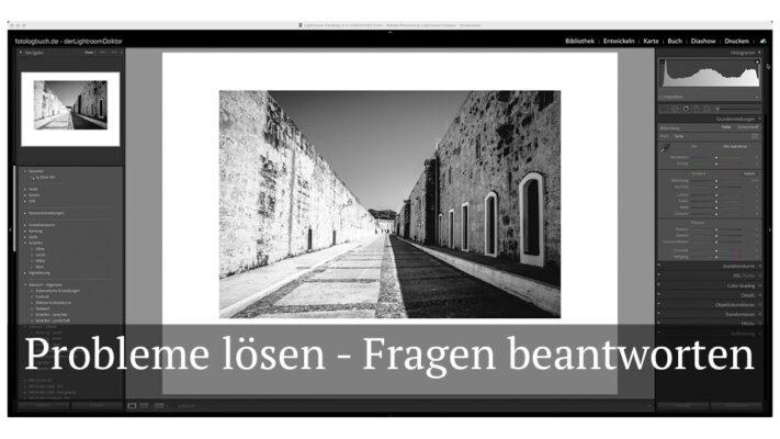 """Fotologbuch - Lightroomsupport – """"Besuch beim LightroomDoktor"""" - Fragen beantworten und Probleme lösen"""