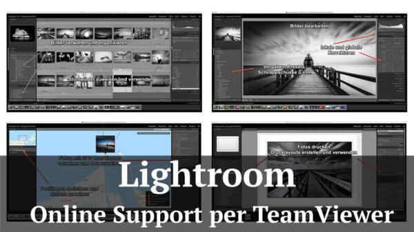 Fotologbuch - Onlinesupport per Teamviewer - Fragen beantworten und Probleme lösen - derLightroomdoktor