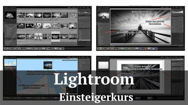 Fotologbuch - Lightroomkurs für Einsteiger und Anfänger - derLightroomdoktor