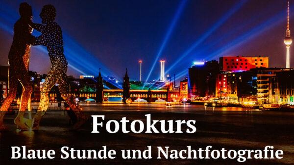 Fotologbuch - Fotokurs Blaue Stunde und Nachtotografie, (Foto copyright - Frank Weber - Berlin - fotologbuch.de)
