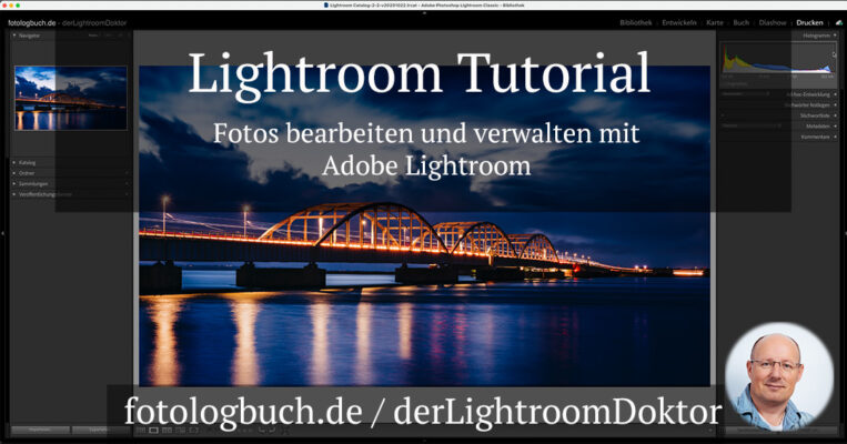 Das große Lightroom Video Tutorial von Fotologbuch - derLightroomDoktor