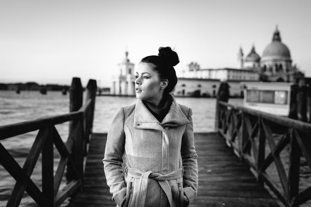 Ricarda Venedig - allein in einer fremden Stadt, (Foto copyright - Frank Weber - Berlin - fotologbuch.de)