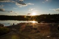 Fototipp – Test Abendsonne und Sterneffekt