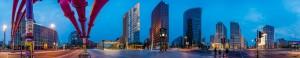Panoramas Potsdamer Platz und (noch nicht) Sony Center