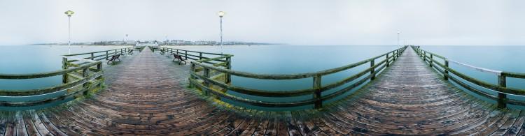 Seebrücke Ahlbeck - 360 Grad Panorama