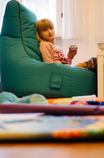 Kinderzimmer mit Festbrennweite - Blende 1.8