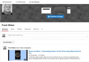 Hurra – 502 Abonnenten auf Youtube geschafft