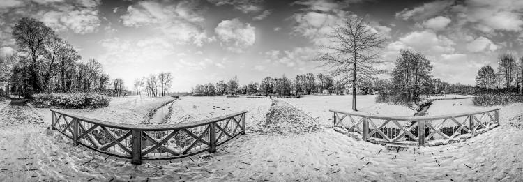 Panorama Jagdschloss Glienecke Park, (Foto copyright - Frank Weber - Berlin - fotologbuch.de)