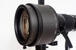 Nikon AF-S 600mm 1:4G VR2, Streulichtblende Transportzustand, (Foto copyright - Frank Weber - Berlin - fotologbuch.de)